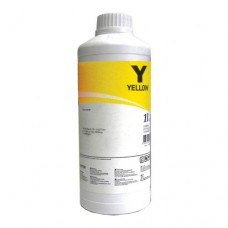 Чернила желтые в канистре 1 литр для картриджей HP C4842A, C4838A, InkTec
